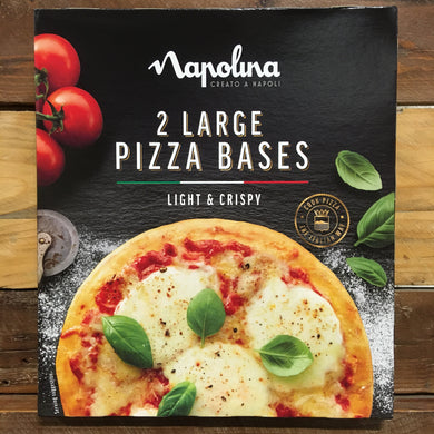 4x Napolina Large Pizza Bases (2 Boxes of 2x150g Bases)