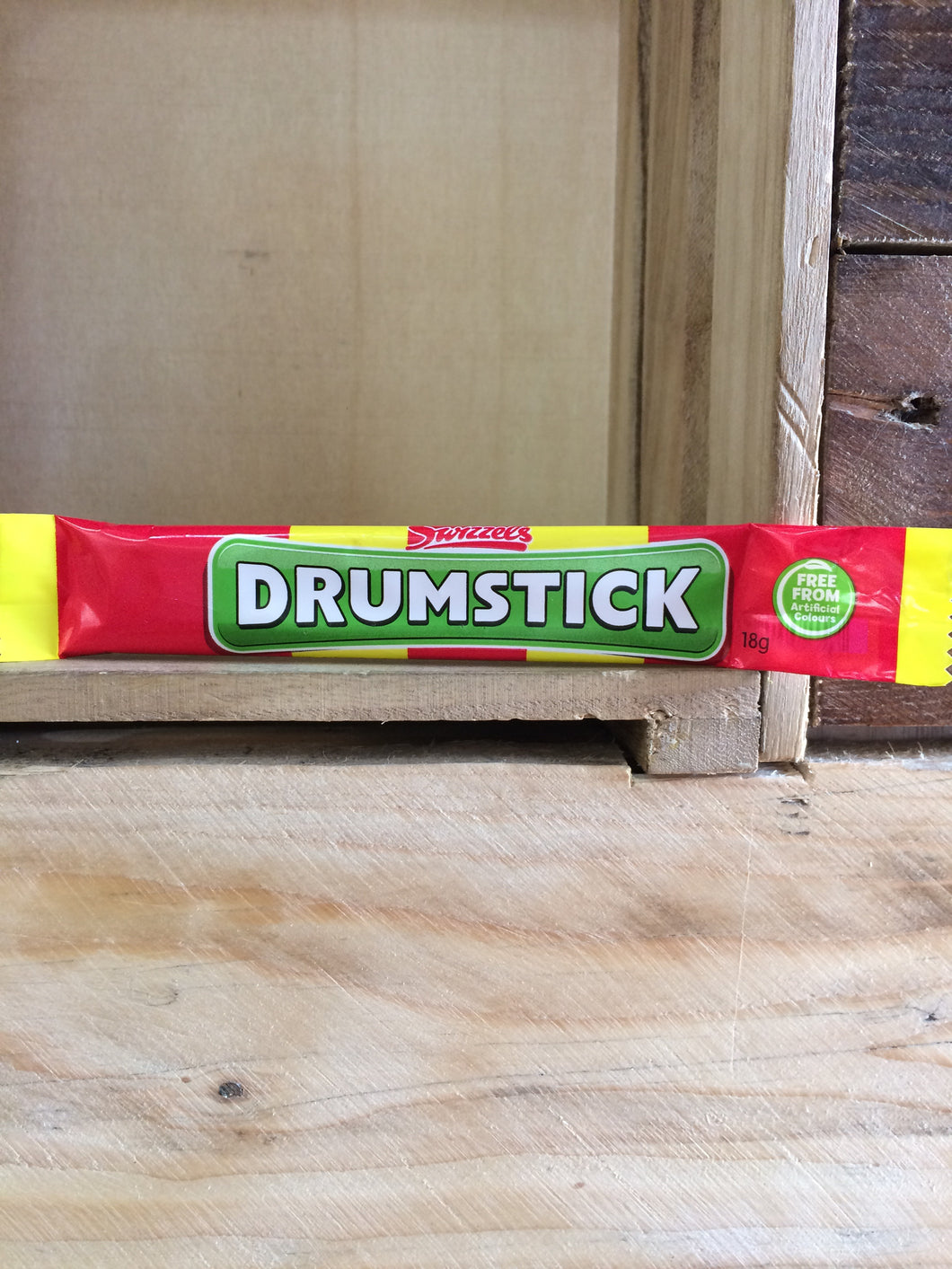 Swizzels Drumstick Raspberry & Milk Chew Bar 18g