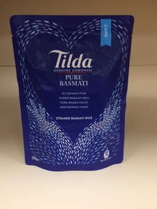 Tilda Steamed Pure Basmati Rice 250g