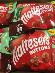 12x Maltesers Mint Chocolate Buttons (12x32g)