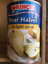 Princes Pear Halves In Light Syrup/Juice 410g