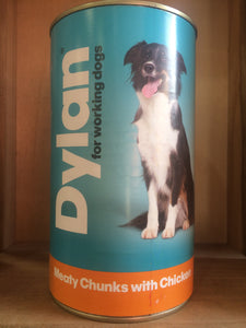 Dylan Meaty Chunks with Chicken for Working Dogs 1200g