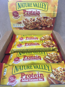 12x Nature Valley Protein Salted Caramel Nut (12x40g Bars)