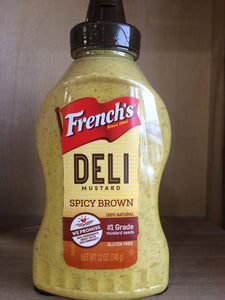French's Spicy Brown Deli Mustard 240g