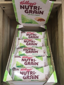 25x Kellogg's Nutri-Grain Bars Apple Box (25x37g)