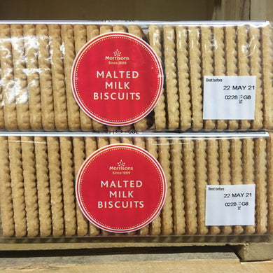 4x Morrisons Malted Milk Biscuits (4x200g)