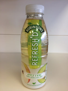 Robinsons Refresh'd Apple & Kiwi 500ml