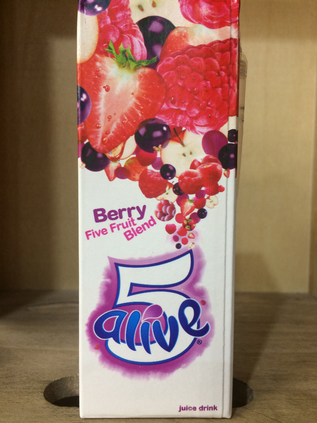 5 Alive Berry Five Fruit Blend 250ml