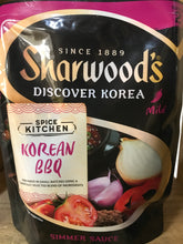 4x Sharwood's Korean BBQ Simmer Sauce (4x250g)