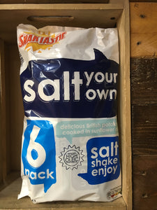 Snaktastic Salt Your Own 6 Pack 150g