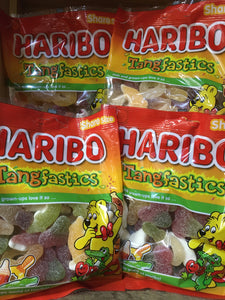 1kg of Haribo Tangfastics (6x 175g Share Bags)