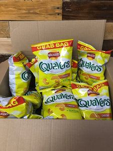 15x Walkers Quavers Grab Bag (15x34g)