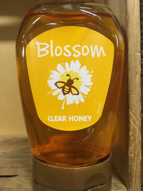 1Kg Blossom Squeezable Clear Honey (3x 340g Pots)