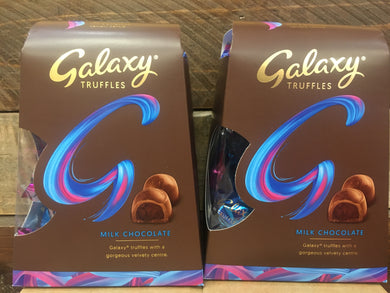 2x Galaxy Milk Chocolate Truffles (2x206g)