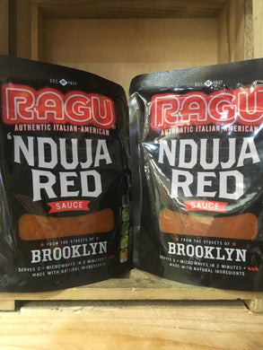 4x Ragu Nduja Red Pasta Sauces (4x250g)