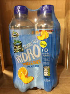Robinsons Fruit Shoot Sparkling Hydro Orange & Peach 4x350ml