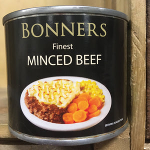 2x Bonners Finest Minced Beef (2x206g)