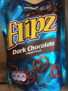 Flipz Dark Chocolate Covered Pretzels 100g