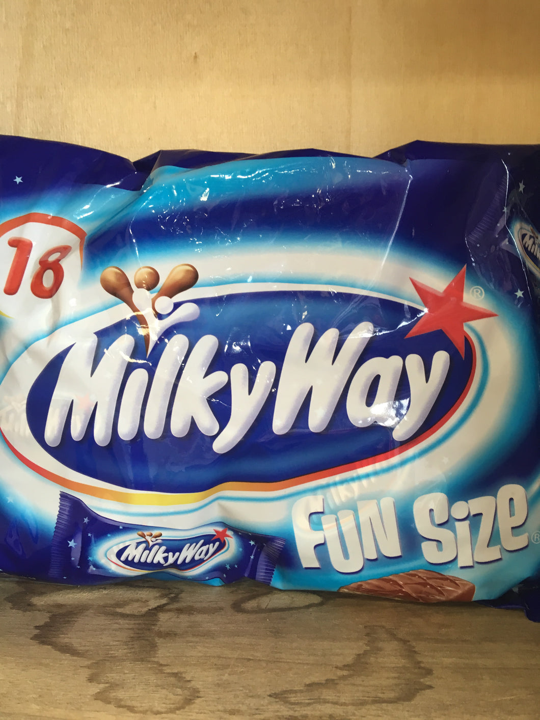 Milky Way 18x Fun Size Minis Pack 303g