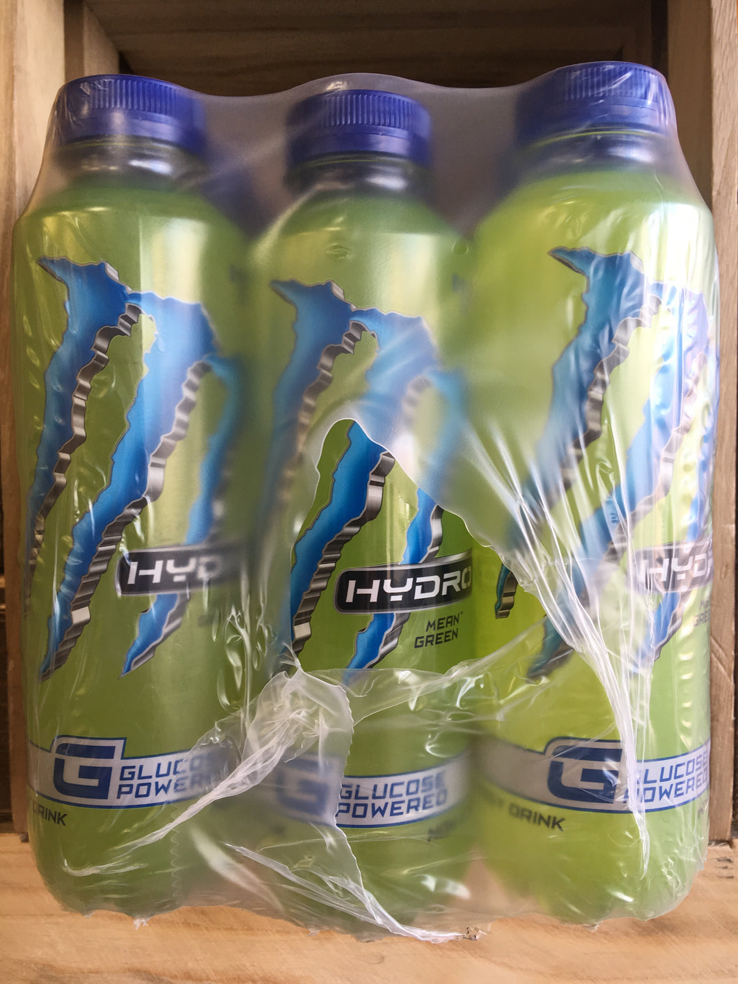 12x Monster Hydro - Mean Green (12x550ml)