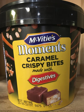 McVitie's Moments Digestives Mini Caramel Crispy Bites 300g