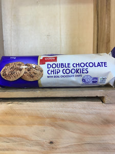 Coles Double Chocolate Chip Cookies with Real Chocolate Chips 145g