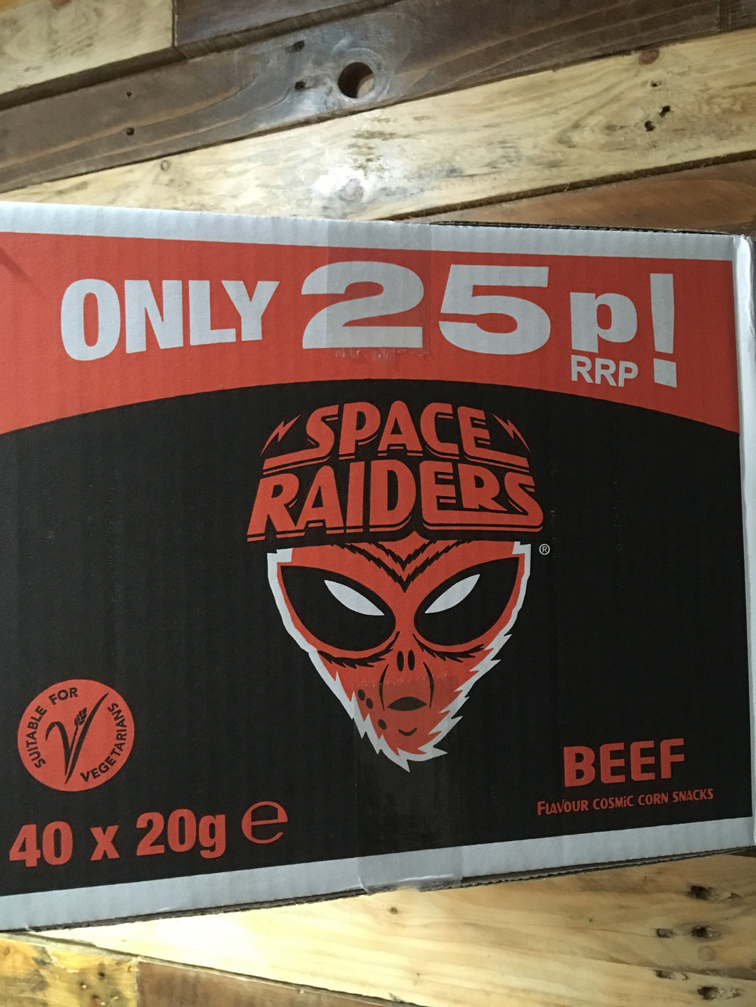 40x Space Raiders Beef (40x20g)
