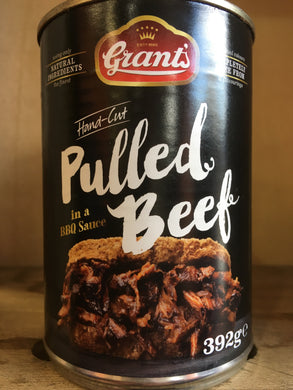 Grants Hand-Cut Pulled Beef in a BBQ Sauce 392g