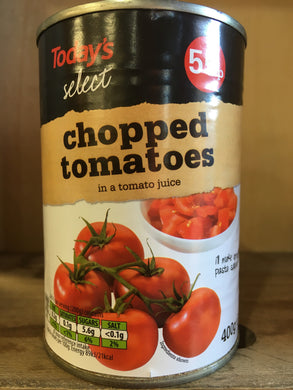 Today's Select Chopped Tomatoes 400g