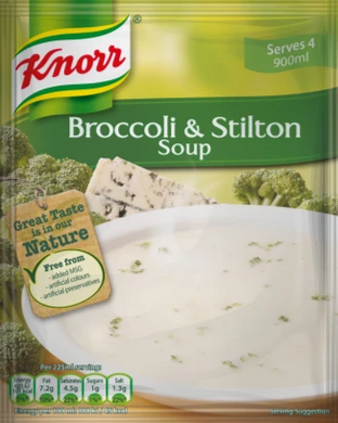 Knorr Broccoli & Stilton Soup Mix (Serves 4) 60g