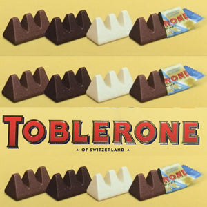 100x Mini Toblerone Chocolates (4 Gift Boxes of 25x8g)