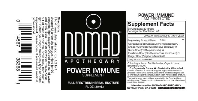 POWER IMMUNE - I AM PROTECTED