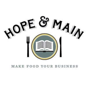 Hope & Main Make Food Your Business Logo