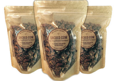 3-pack 10 oz pouches Sacred Cow Granola