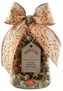 3lb Holiday Latch Lid Gift Jar