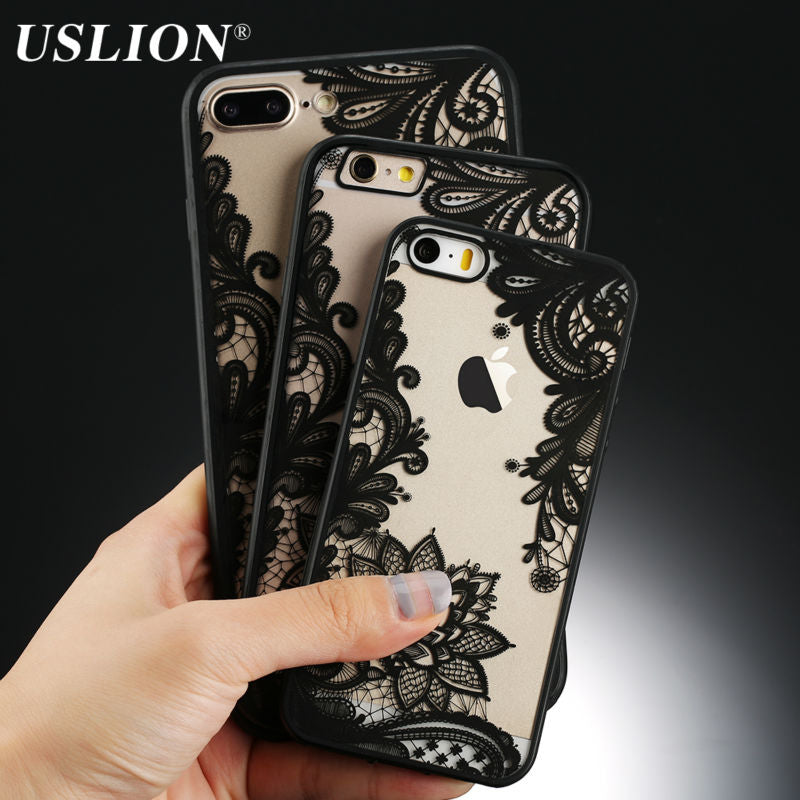 Sexy Retro Floral Phone Case Cover For Variety of Phone Models