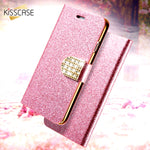 KISSCASE Luxury Bling Flip Case / Cover For iPhone 6 6s 7