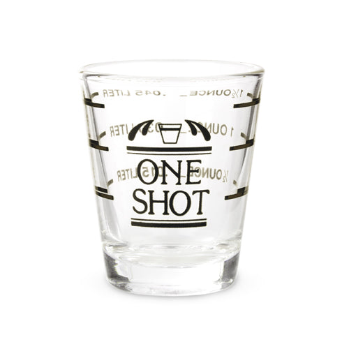 Bullseye: Measured Shot Glass - Big Bar Shots