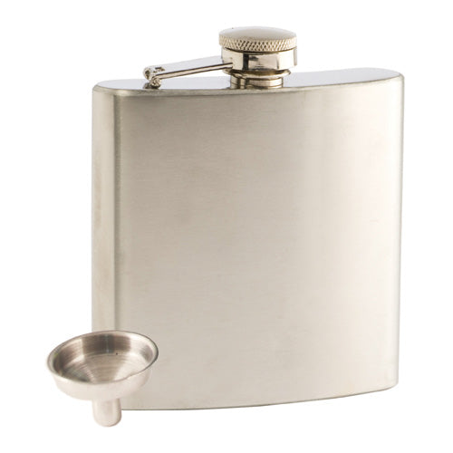 Trueflask 6 Ounce Stainless Steel Flask by True