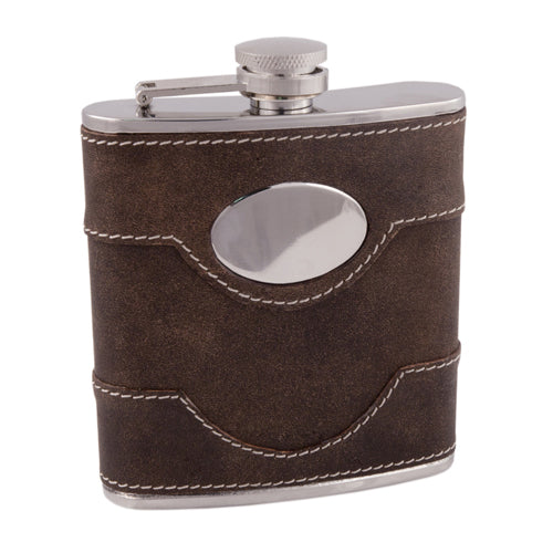 Country Home: Bootlegger Flask - Big Bar Shots