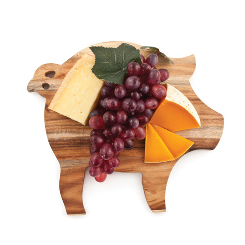 Rustic Farmhouse: Pig Cheese Board - Big Bar Shots