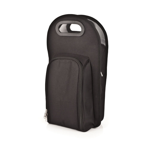Metro™: Onyx 2-Bottle Tote - Big Bar Shots