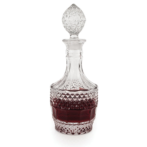 Chateau™ Crystal Vintage Decanter by Twine - Big Bar Shots