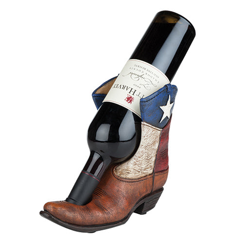 Lone Star Boot Bottle Holder by Foster and Rye - Big Bar Shots