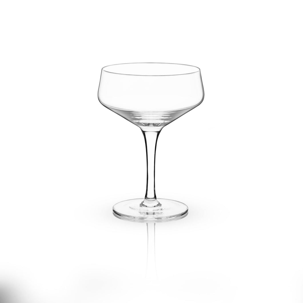 Raye: 7oz. Crystal Coupe Glass (VISKI) - Big Bar Shots
