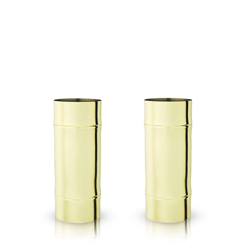 Pacific: Bamboo Highball Glasses (VISKI) - Big Bar Shots