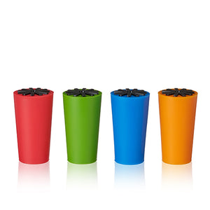 Starburst: Silicone Bottle Stoppers - Big Bar Shots