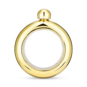 Gold Plastic Bangle Flask by Blush® - Big Bar Shots