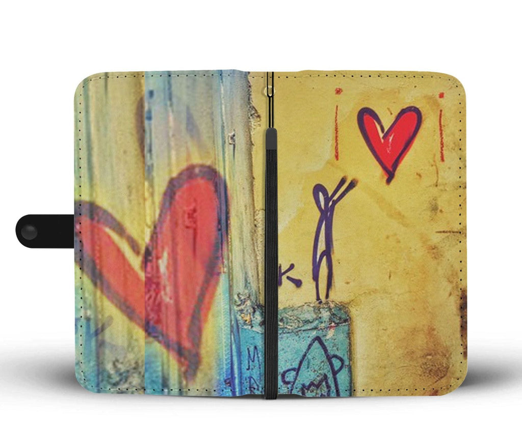 Original Have a Heart Wallet Case - Illusion Photograph
