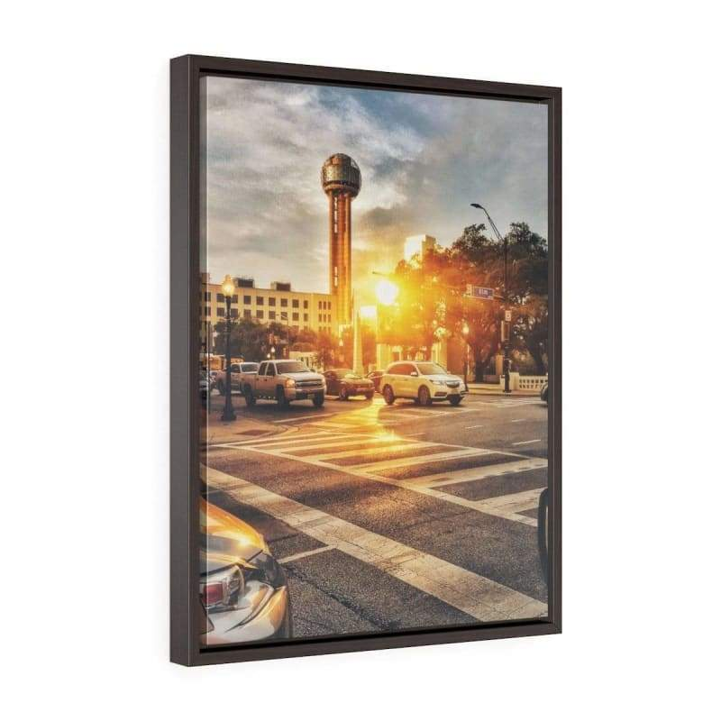 Canvas Print Home Decor, Dallas Mornings